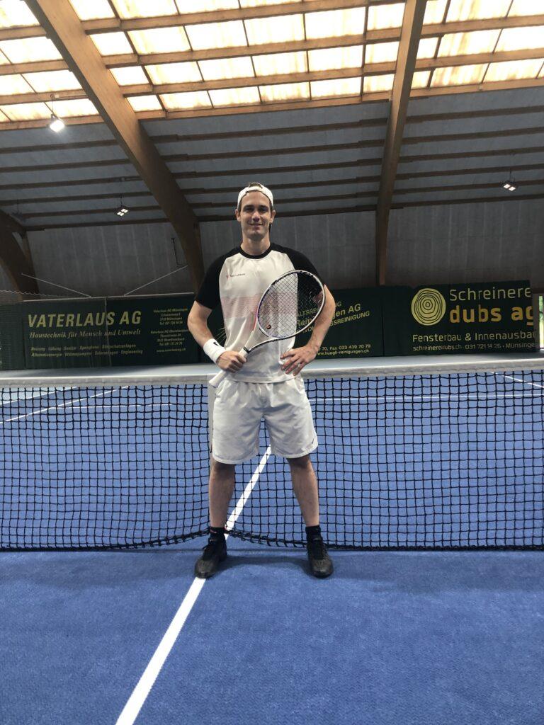 Profilfoto von Philipp Rindlisbacher, Tennistrainer